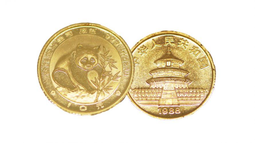有名金貨、パンダコインについて